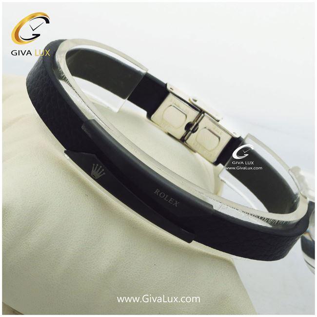 دستبند چرمی مردانه رولکس