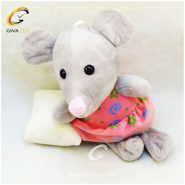 عروسک موش کادویی 19 سانتی