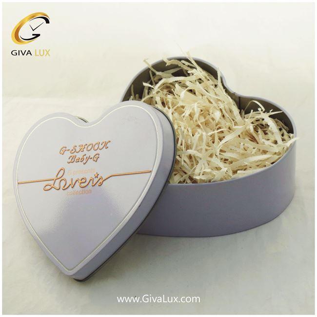جعبه ی قلبی فلزی