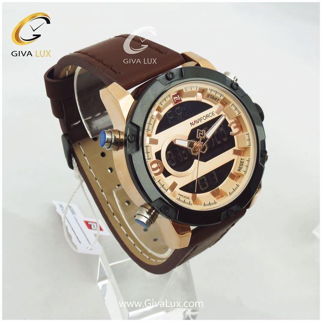 ساعت مردانه دوزمانه نوی فورس مدل Nf9097