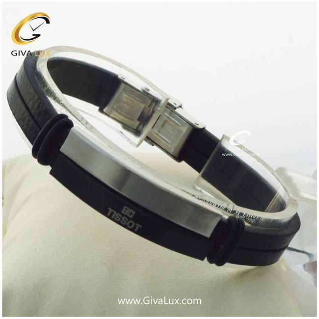 دستبند چرمی مردانه تیسوت