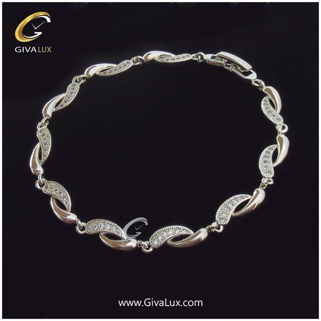 دستبند زنانه پرنگین رنگ ثابت