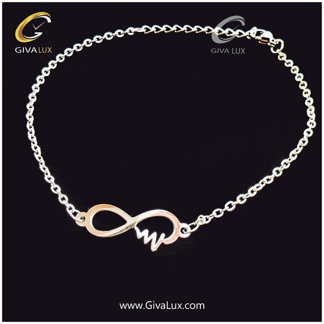 دستبند و پابند زنانه طرح بینهایت