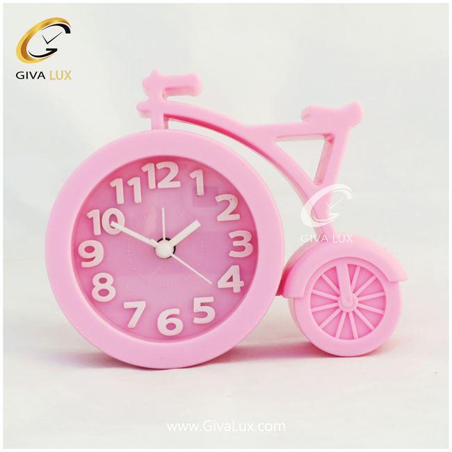 ساعت رومیزی طرح دوچرخه