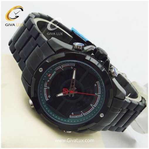 ساعت مچی اورجینال دوزمانه ناوی فورس مدل NF9170M