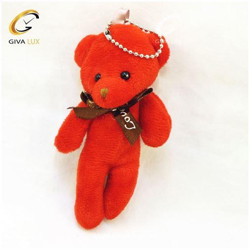 خرس قرمز رنگ 13 سانتی متری