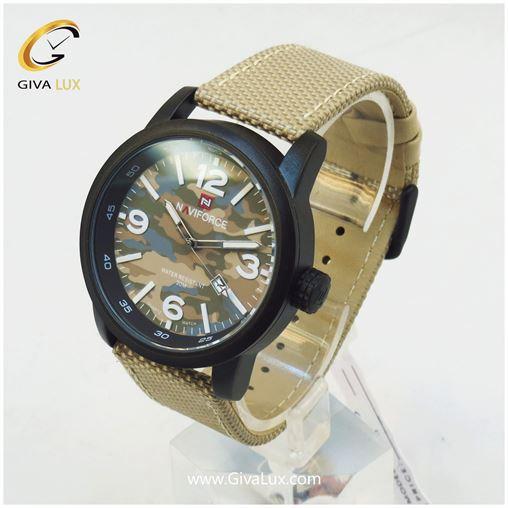 ساعت مردانه صفحه ارتشی نوی فورس مدل NF9080M