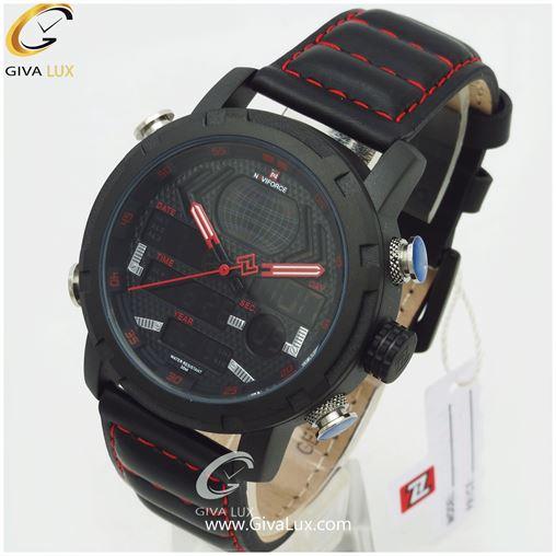 ساعت مردانه بند چرمی نوی فورس مدل NF9160M