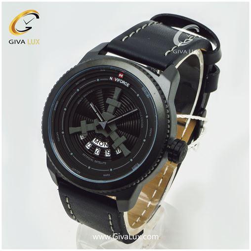 ساعت مردانه بند چرمی نوی فورس مدل NF9156M