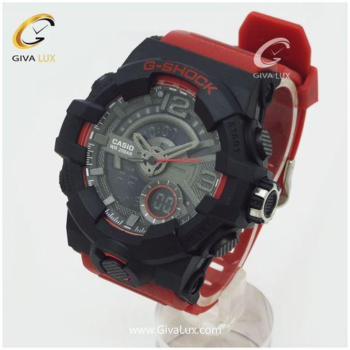 ساعت اسپرت کاسیو جی شاک قرمز