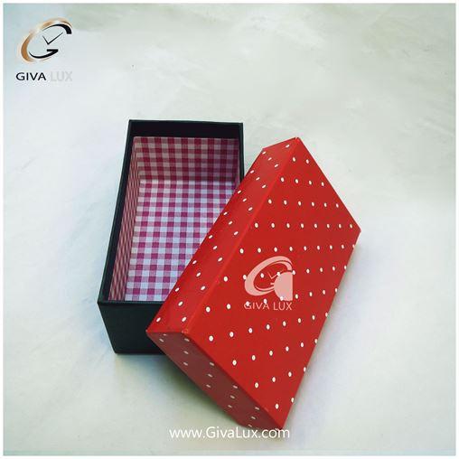 جعبه کادویی قرمز رنگ 15 سانتی متری
