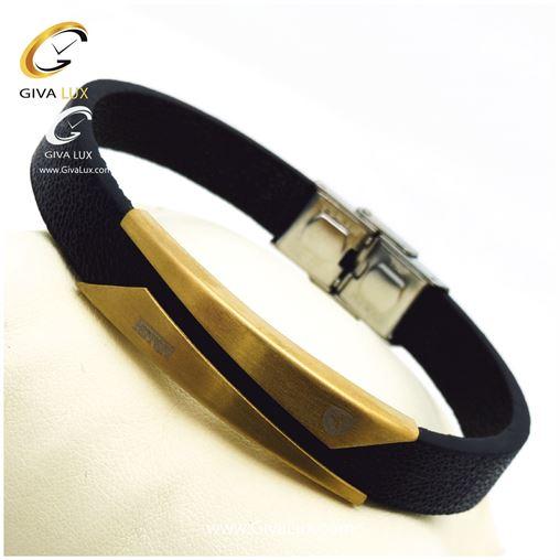 دستبند مردانه بند چرمی فراری